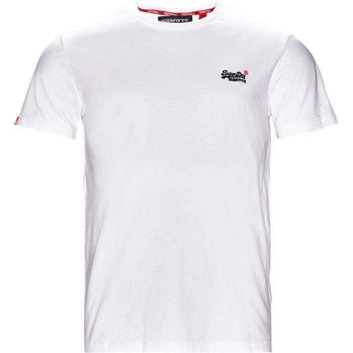 M10000 Tee - T-shirts - Regular - Hvid